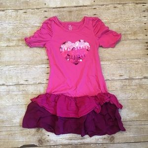 The Children's place heart dress size 8